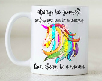 unicorn mug for unicorn addict unicorn gift for unicorn lover funny unicorn decor watercolor unicorn cup rainbow unicorn fabulous rainbow