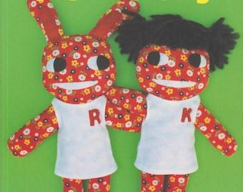 Aranzi Aronzo Fun Dolls (Let's Make Cute Stuff) - Sewing Book and Patterns