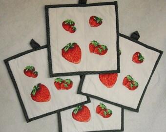 Strawberry Hot Pads
