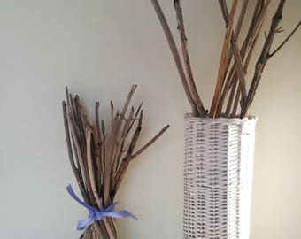 27 Vase Filler Twigs Beach Wedding Centerpiece Driftwood Branches Home Decor Drift Wood Beach Decor