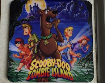 Scooby Doo Zombie Island Inspired Magnet