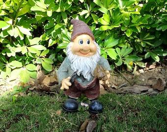 Garden Ornament Greg The Gardening Gnome
