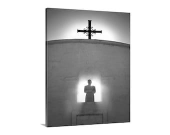 Christian Art, Spanish Mission Church Art Photograph, Saint Xavier, San Xavier Mission, Tucson Gift, Arizona Gift, Southwest Church
