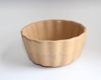 Golden Concrete vessel