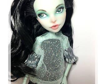"""Ooak Monster High doll """"Cosmic Girl"""""""