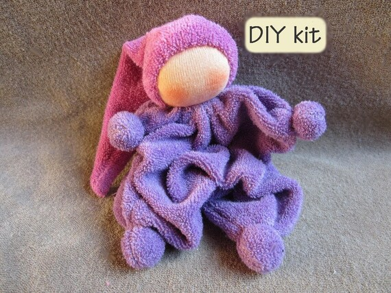 Do it yourself kit ukkie instructions with pattern pdf and do it yourself kit ukkie instructions with pattern pdf and materials you need to make waldorf rattling doll ukkie color lila from bibidolls on etsy solutioingenieria Choice Image