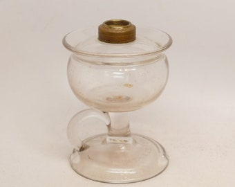 Vintage Oil Lamp - Kerosene Lamp - Antique Lighting
