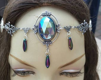 Arcane Circlet of the Twilight Sorceress priestess goddess bridal celtic druid elven