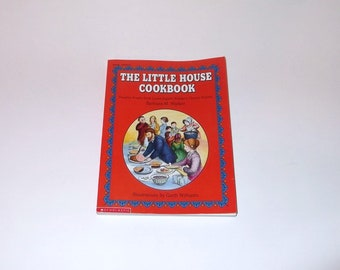 LITTLE HOUSE on the PRAIRIE Cookbook Scholastic Vintage Book Mint condition!