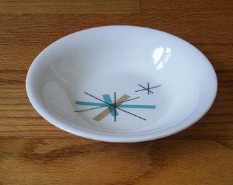 Mid Century Atomic Catch All Dish Small Bowl