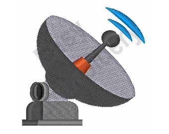 Satellite Antenna - Machine Embroidery Design