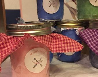 8oz Jelly Jar Candles