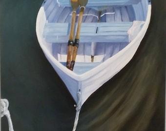 Waiting (original oil painting)