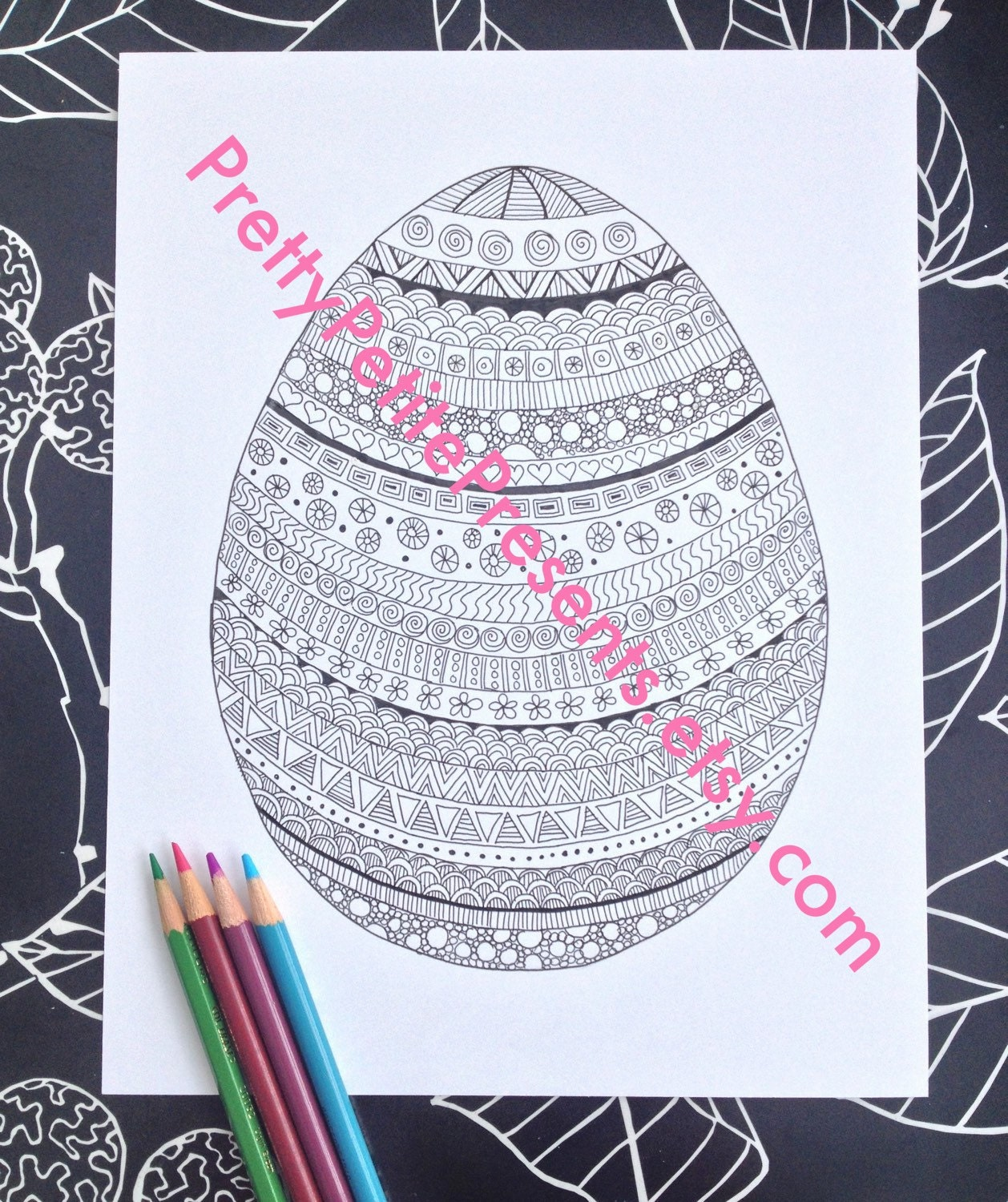 intricate alphabet coloring pages eggs - photo#44