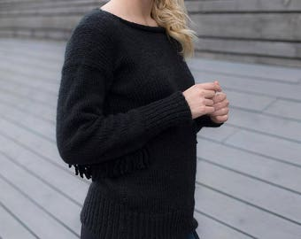 sweater Knitted sweater,  Pullover, Knitted Sweater, Woman Pullover, Gift for her, Women's Sweaters, Womens Pullovers