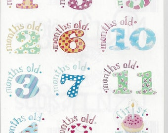 NRN Designs ~ Baby's First Year