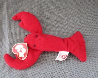 Ty Beanie Babies mini Pinchers , McDonald's toy , 1993 Pinchers McDonald's Ty Beanie Babie ,Stuffed Animal ,Teenie beanie babies