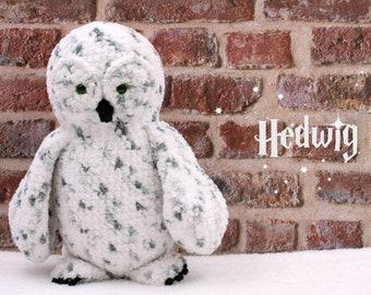Crochet pattern: Hedwig the owl (Harry Potter)