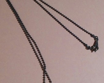 A Vintage Avon Chain With A Heart Shaped Pendant!