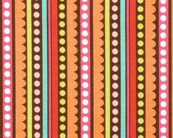 Fabric striped multicolored sweet nothing Riley Blake