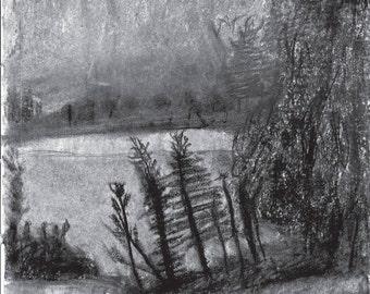 Print - Pencil & Charcoal Sketch No. 1