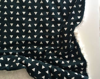 Navy Blue Blanket, triangle blue blanket, geometric Baby Blanket,  Blanket, geometric Blanket, blue Nursery, Gender Neutral Baby Shower Gift
