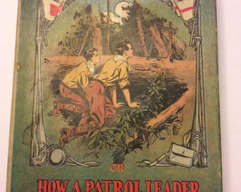 1913 Boy Scouts Hardcover with dust jacket