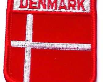 Denmark Embroidered Patch