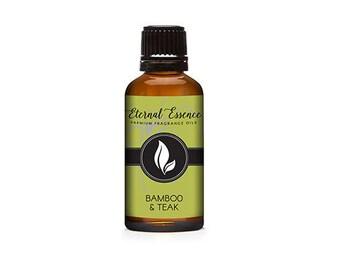 Bamboo & Teak Premium Grade Fragrance Oil - 30ml