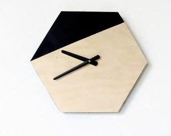 Wall Clocks, Natural Wood Wall Clock, Wall Decor, Handmade Wall Clock