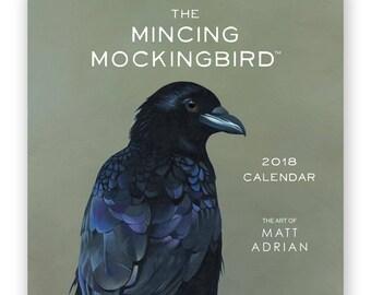 Matt Adrian Fine Art 2018 Wall Calendar