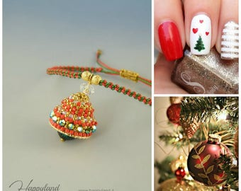Trilly , beaded bell tutorial step by step