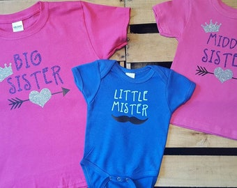 Big Sister Little Sister sibling sets