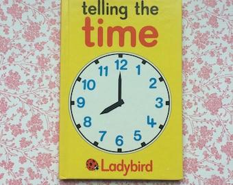 Vintage Ladybird 'Telling the Time' series 563 Hardback book