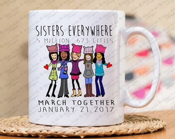 March on Washington, Womens March,  DC, She persisted, Nevertheless, she was warned, women's rights, woman's rights, resist, gift for her