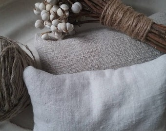 Antique French linen lavender sachet #1