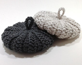 Duo tawashis cotton 9 cm grey-taupe grey