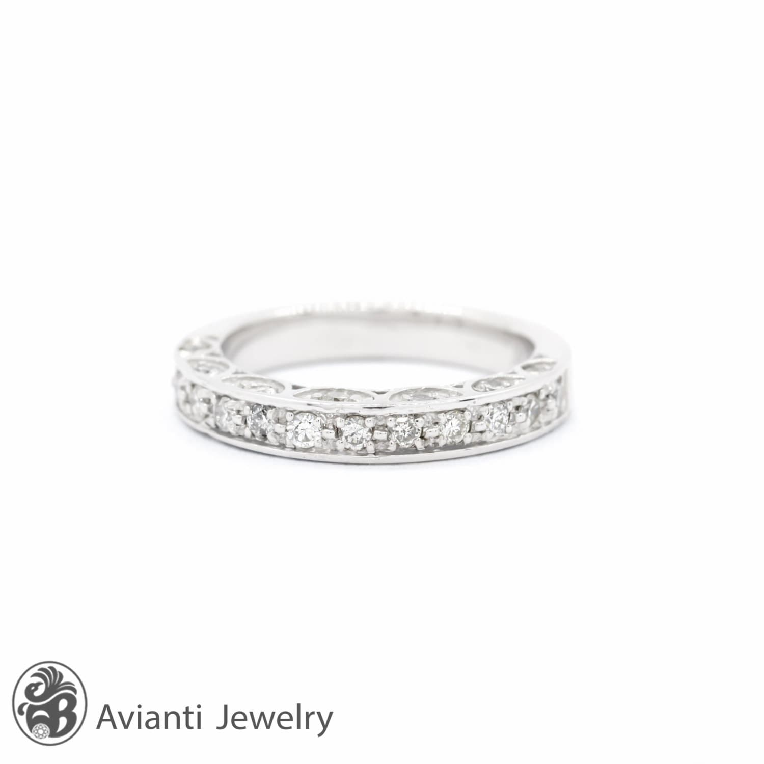 rings vintage diamond engagement style bands for women