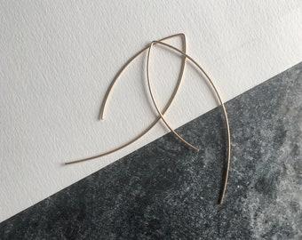 Open Hoop Earrings.