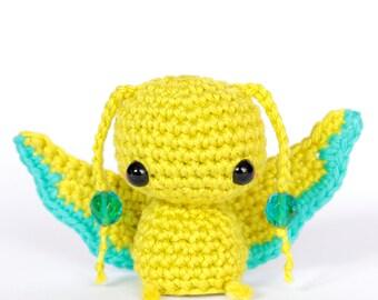 Butterfly crochet amigurumi, Butterfly plush animal doll, Mini crochet butterfly, Cute gifts for friend, Stuffed animal plushies, Desk toys