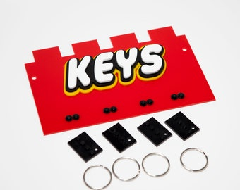 Acrylic key holder