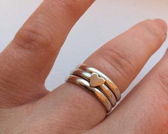 Ocean Love Stacking Ring