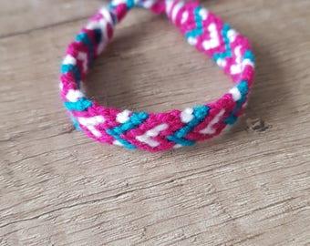 Bracelet with hearth, gift for him, gift for her, Love, Handmade