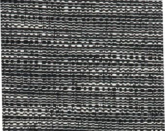 Black White Tweed Upholstery Fabric   Woven Grey Material For Furniture    Black Texture Home Decor Fabric By The Yard   Kitchen Chair Fabric