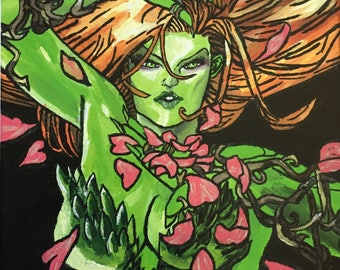 Poison Ivy Kiss Print