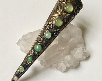 vintage mussie tussie corsage brooch