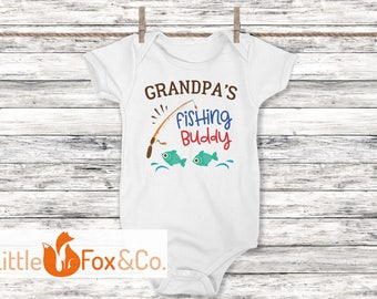 Fishing, Baby Clothes, Personalized Gift, Baby Gift, Baby, Gender Reveal, Newborn, Pregnancy Announcement, Baby Announcement, Shirt