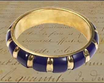 Vintage bracelet, brass bracelet, Vintageschmuck