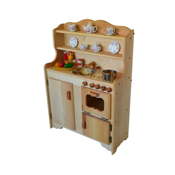Waldorf madera cocina juego de cocina-cocina de juguete de