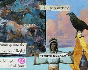 Artistic Journey greeting card
